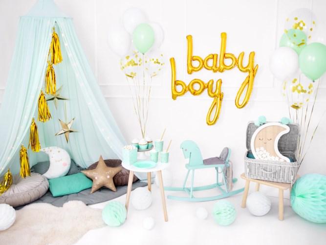 exemple de chambre pour une baby shower de garçon