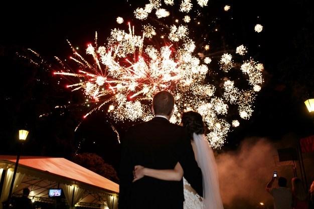 Comment organiser un feu d'artifice pour un mariage ?