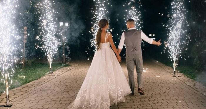 Fumigène ou feu d'artifice pour un mariage ?
