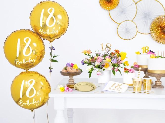 Comment organiser un anniversaire de 18 ans ?
