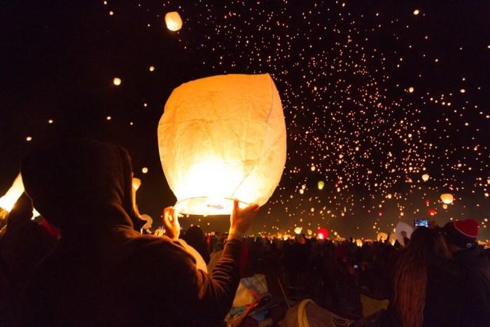 Lâcher de lanterne autorisation mairie