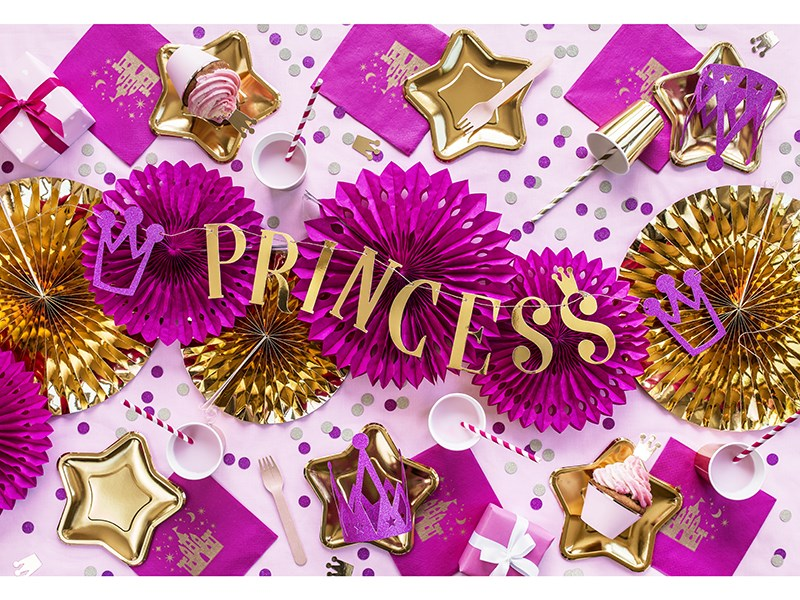 Comment réaliser un thème princesse ?