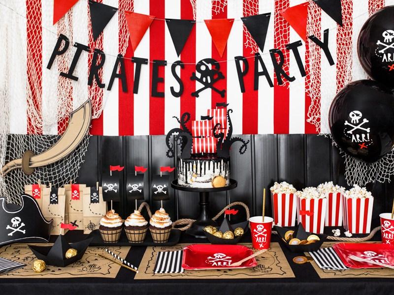 Une fête sur un thème pirate.