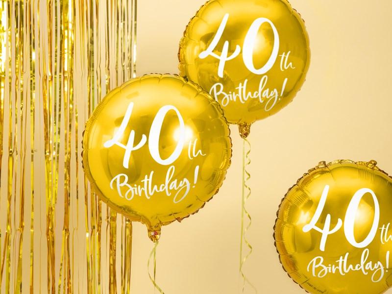 Comment fêter et organiser ses 40 ans ?