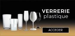 Les verres en plastique incassables