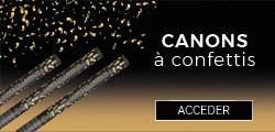 Les lanceurs de confettis électriques