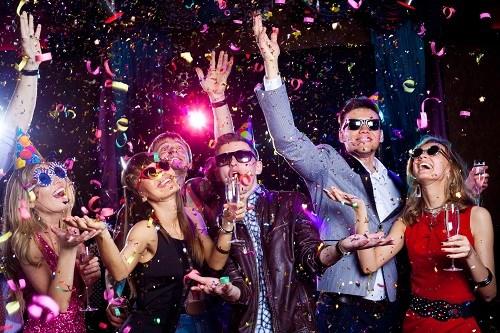 Article pour fête d'anniversaire chez Sparklers club