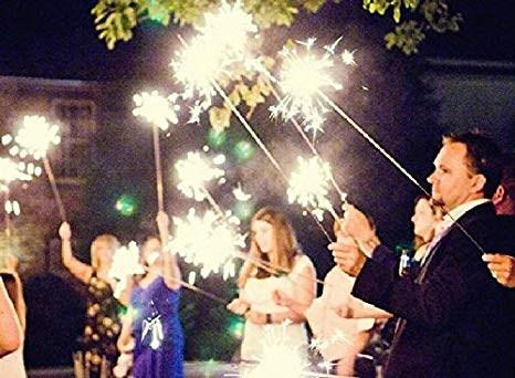 Cierges magiques pour les mariages
