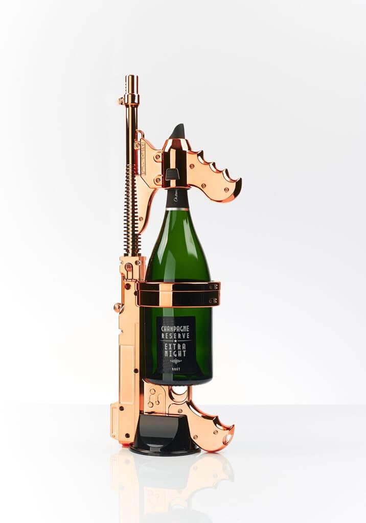 CHAMPAGNE GUN OR ROSE