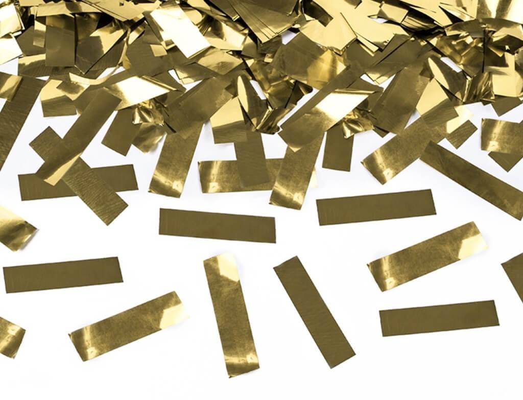 Canons à confettis 60 CM Gold