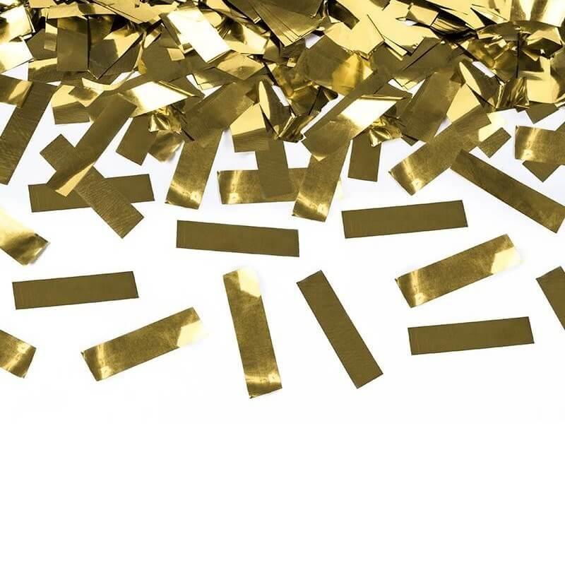 Canons à confettis 80 CM Gold