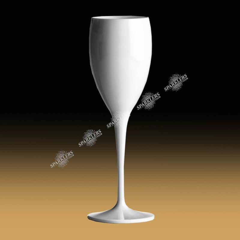 Flute de champagne blanche 17cl