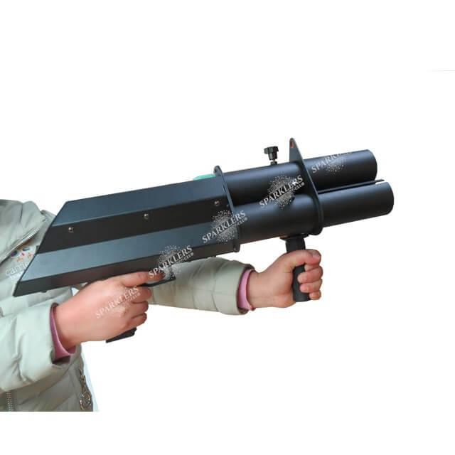 Gun à confettis électrique