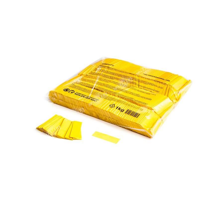 Sac 1KG confettis jaune Magic FX