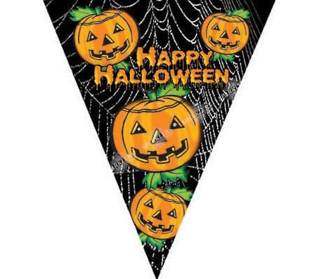 Guirlande en nylon happy Halloween