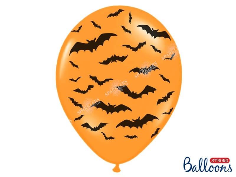 Lot 50 Ballons Halloween Chauve souris