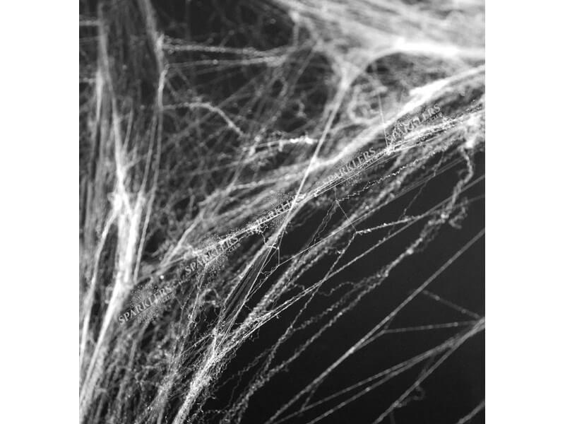 Toile d'araignée Halloween 60gr blanche