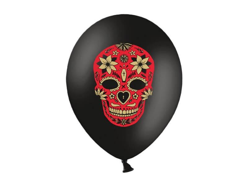 Lot de 50 Ballons Dia de los Muertos