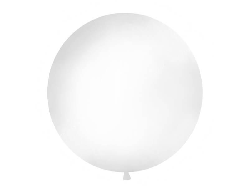 Ballon géant 100cm Blanc