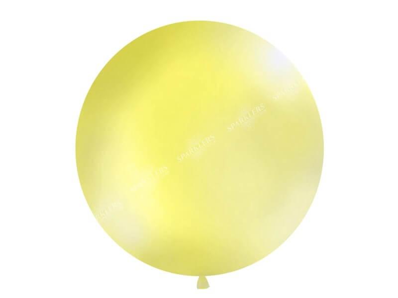 Ballon géant 100cm Jaune