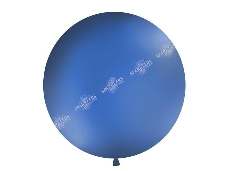 Ballon géant 100cm Bleu Foncé