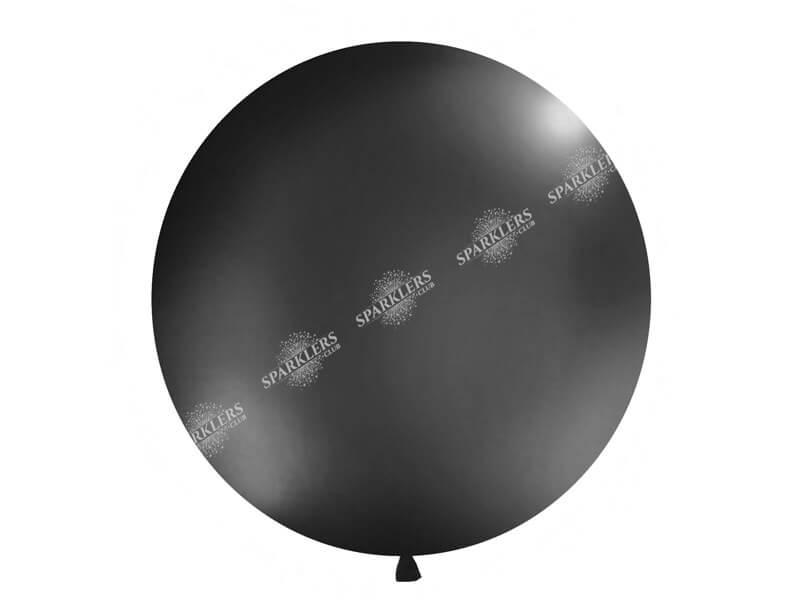 Ballon géant 100cm Noir