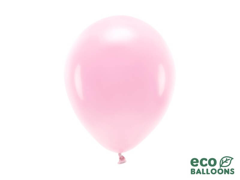 Lot de 100 Ballons de Baudruche biodégradable Roses Clairs