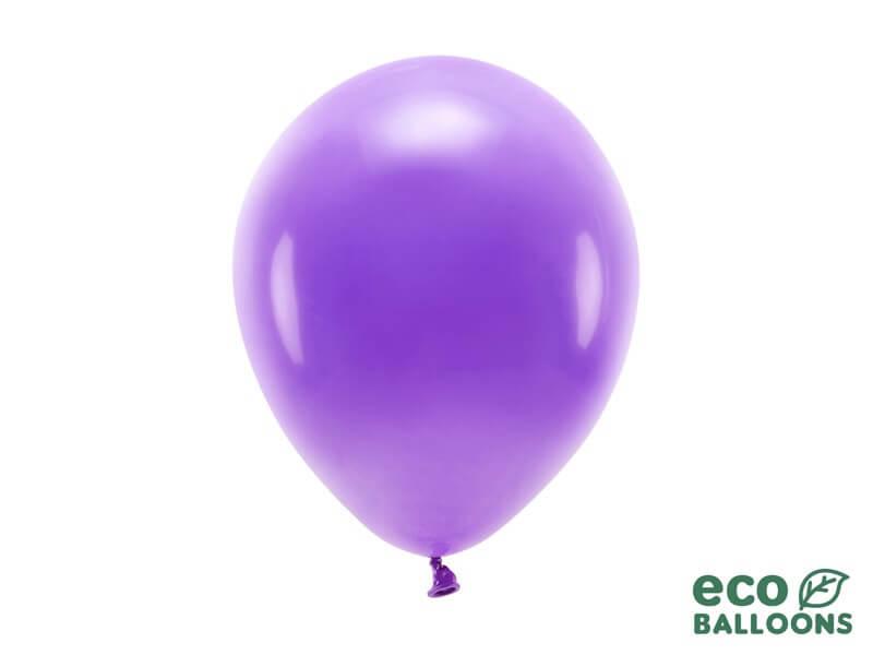 Lot de 100 Ballons de Baudruche Biodégradable Violets