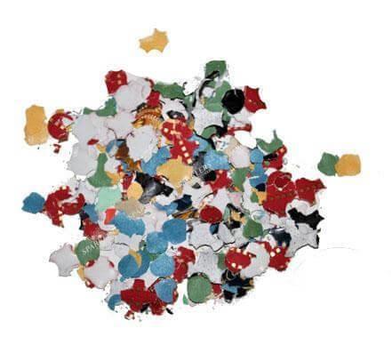 Sachet 200gr Confettis Multicolores