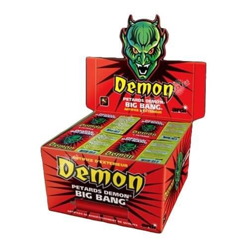 Pétards DÉMON® BIG-BANG® (paquet de 4)