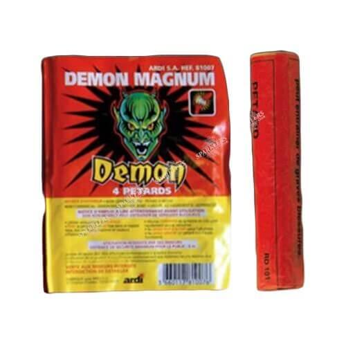 Pétard DÉMON® MAGNUM ( Mammouth 3 ) (paquet de 4)