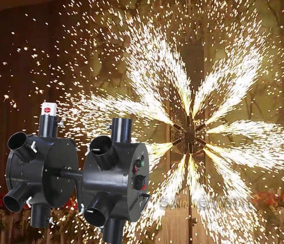 Double Wheels Fire