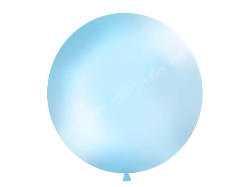 Ballon géant 100cm Bleu clair