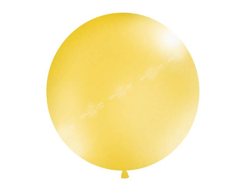 Ballon géant 100cm Gold Métallique