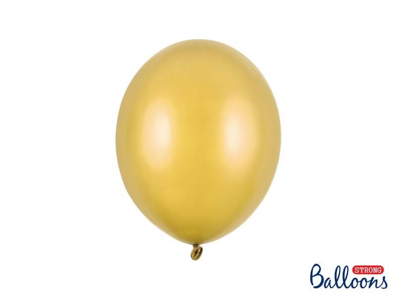 Lot de 100 Ballons Or métallique
