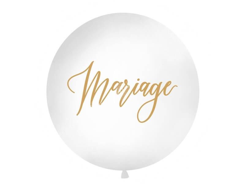 Ballon Géant 100cm Mariage
