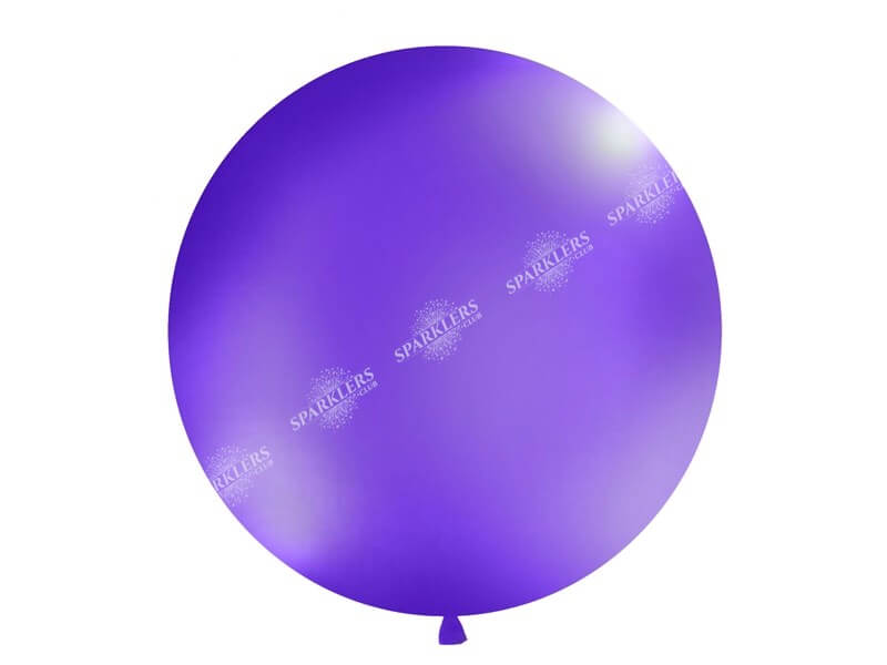 Ballon géant 100cm violet