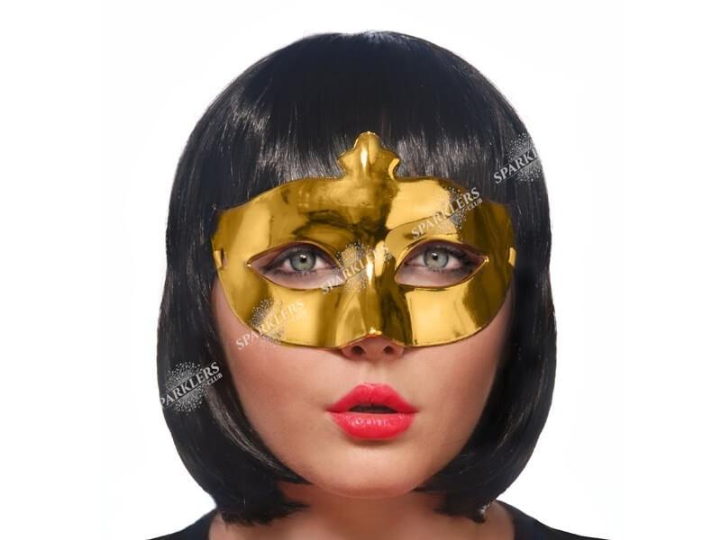 Masque vénitien or brillant