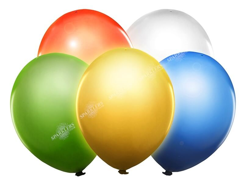 Ballons LED MULTICOLOR (Lot de 5)