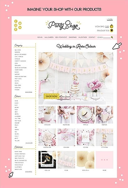 Livre d'or mariage rose 22 pages (For sweet memories)