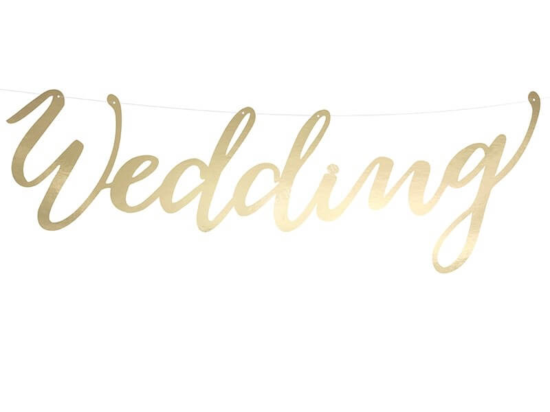 Banner Wedding, or