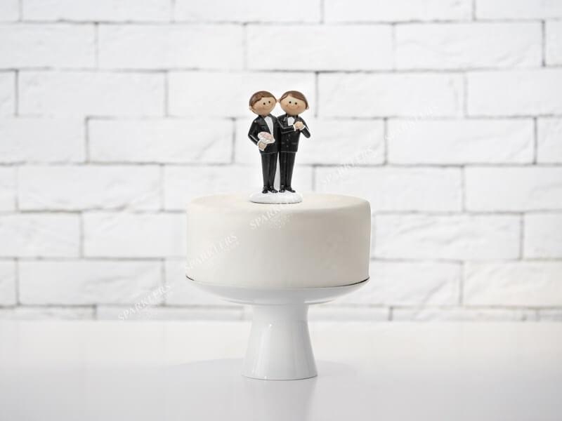 Figurine mariage couple homosexuel
