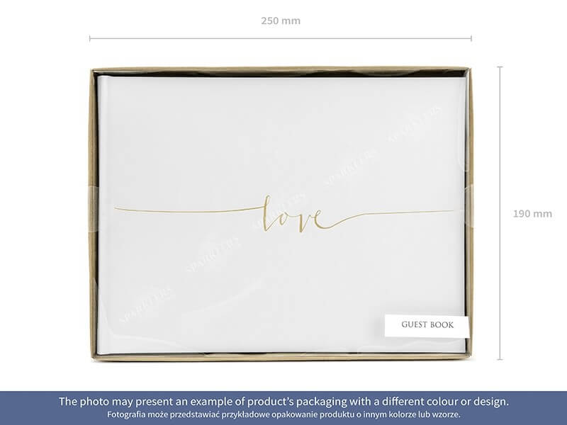 "Livre d'or ""Love"" Or"