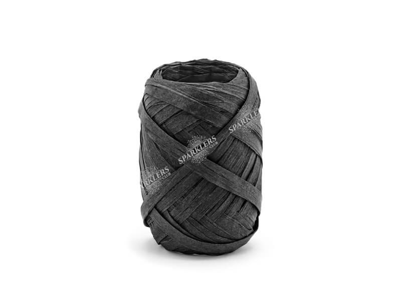 Ruban noir 10 mètres