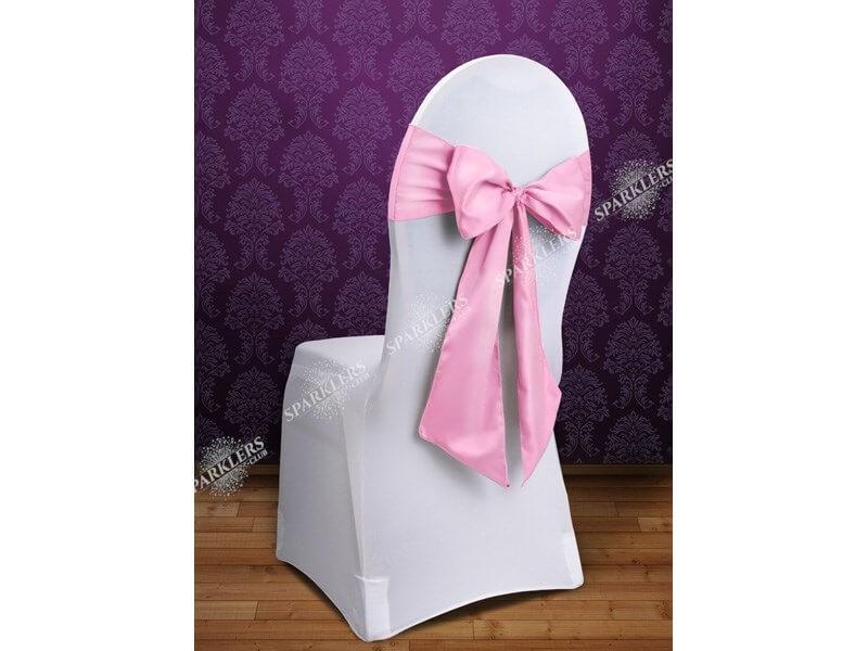 Lot de 10 noeuds de chaise rose
