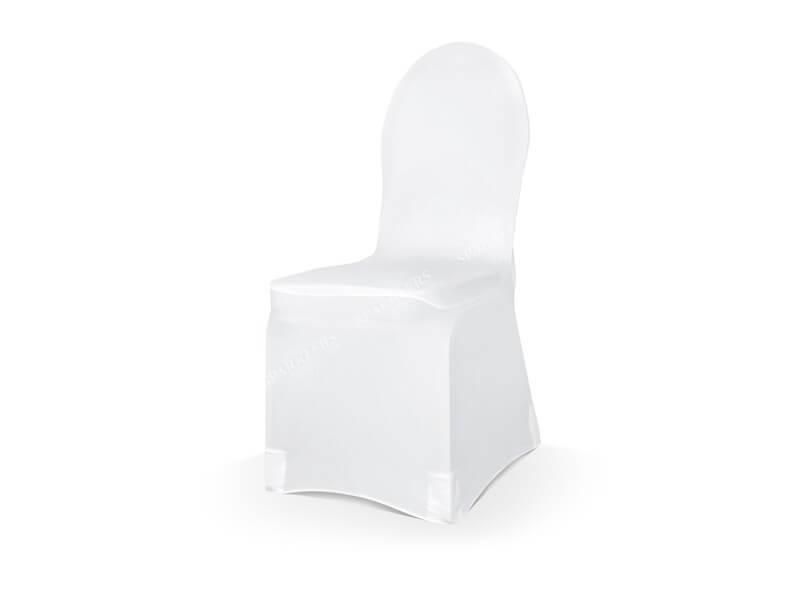 Lot de 5 housses de chaise mariage blanches