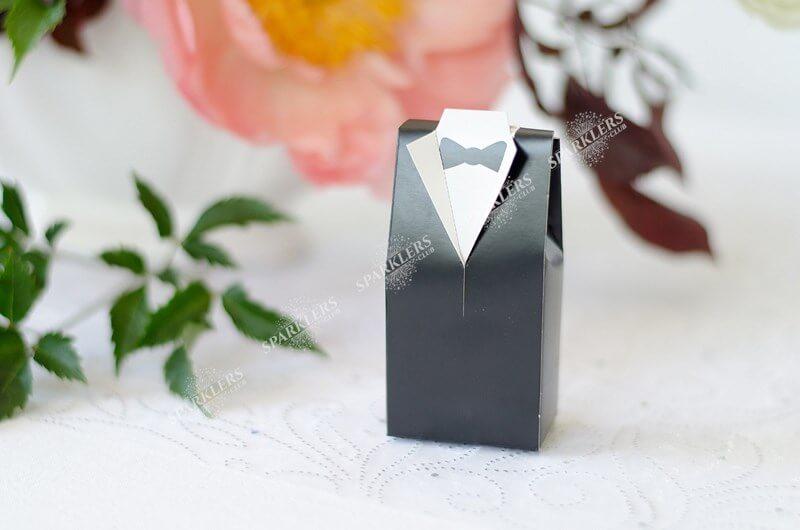 Boîtes Marié noir lot de 10