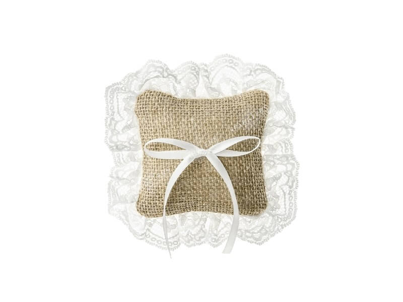 Port alliance mariage coussin