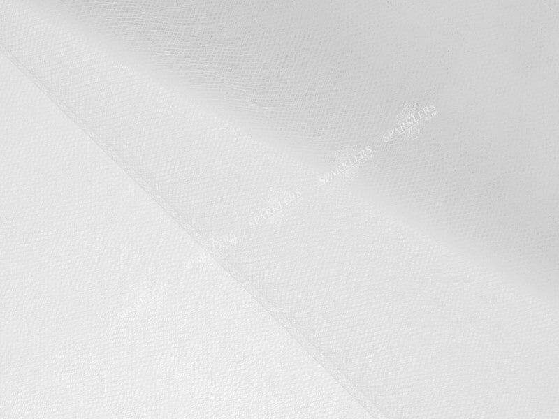 Tulle fin blanc 1,5 x 10 mètres