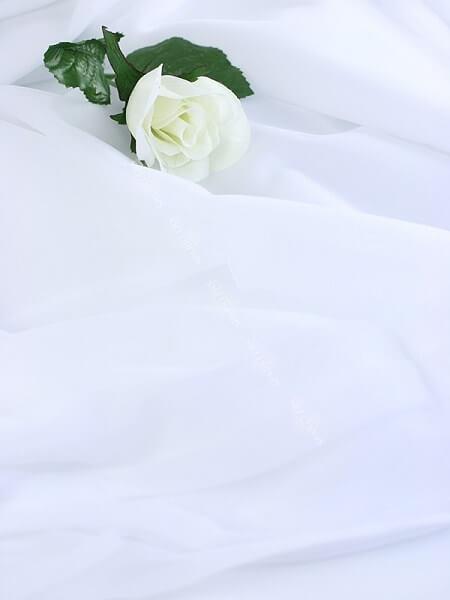 Tulle blanc 1,6 x 10 mètres